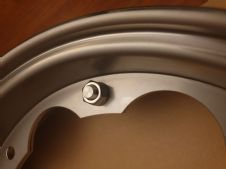 BGM  STAINLESS STEEL WEEL RIMS (SATIN FINISH)